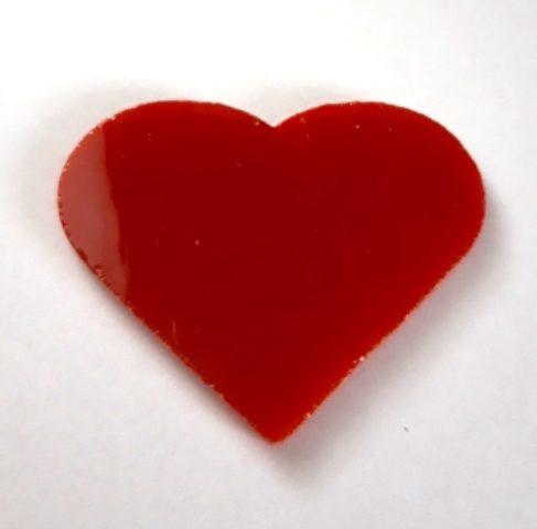 Serce duze nieprzezroczyste