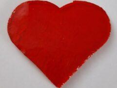 Serce średnie przezroczyste