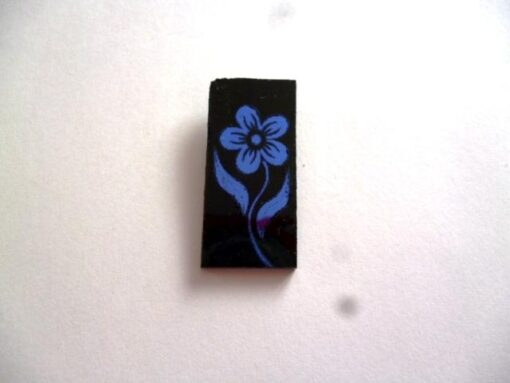 szklo_ozdobne_COE_90_kwiatek_niebieski